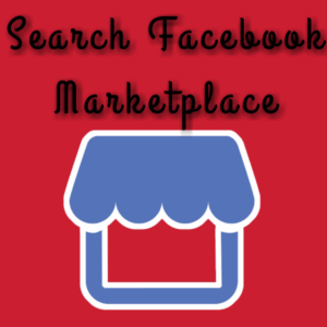 Marketplace search on Facebook