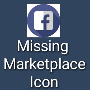 Missing Marketplace icon